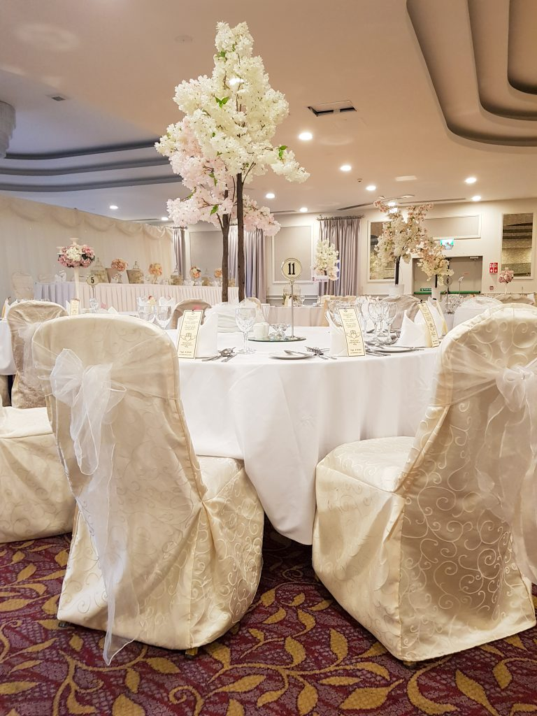 Vogue Events wedding chair covers