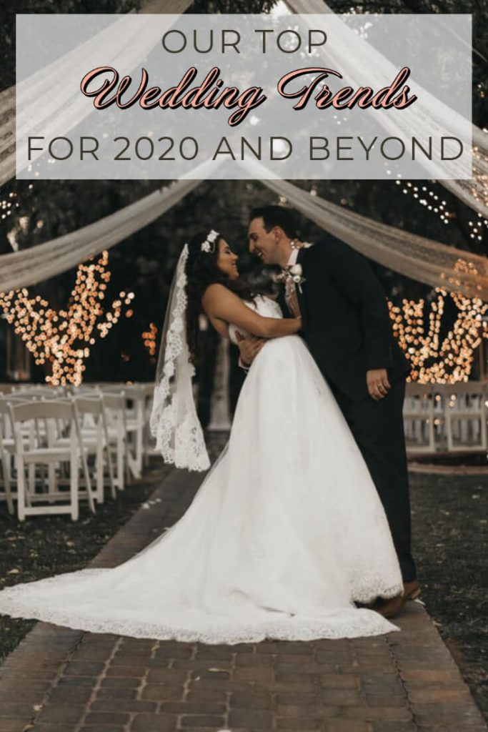 Our top wedding trends for 2020 weddings strike the perfect balance between traditional and modern affairs. Check out our favourite wedding trends here.