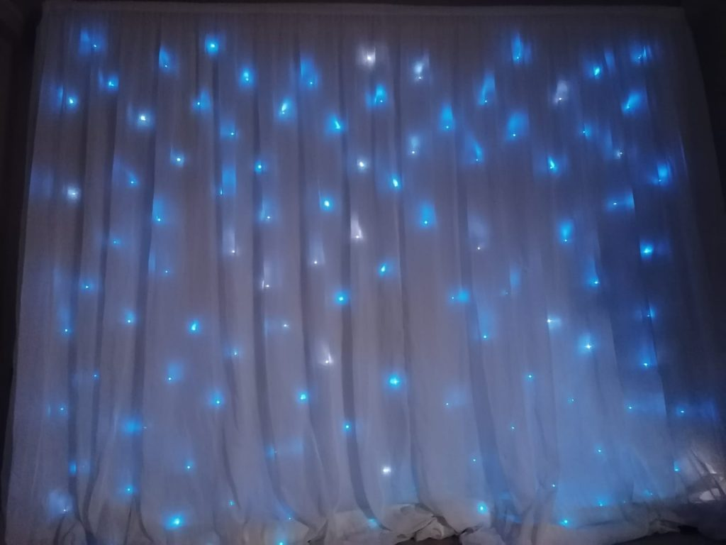 Event Backdrop and Draping Hire